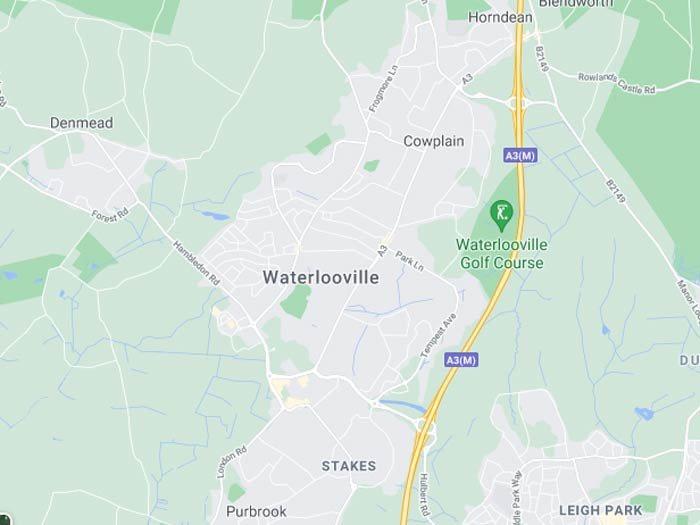 map of waterlooville